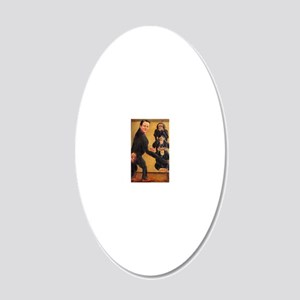 Leveson Inquiry: Omerta 20x12 Oval Wall Decal