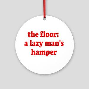 Lazy Hamper Ornament (Round)