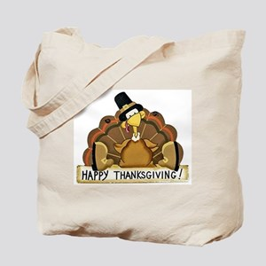 Happy Thanksgiving Turkey Tote Bag