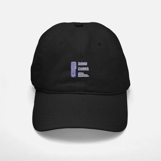 MBA Half Full Baseball Hat