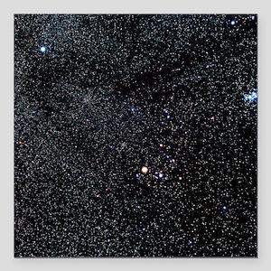 """Taurus constellation Square Car Magnet 3"""" x 3"""""""