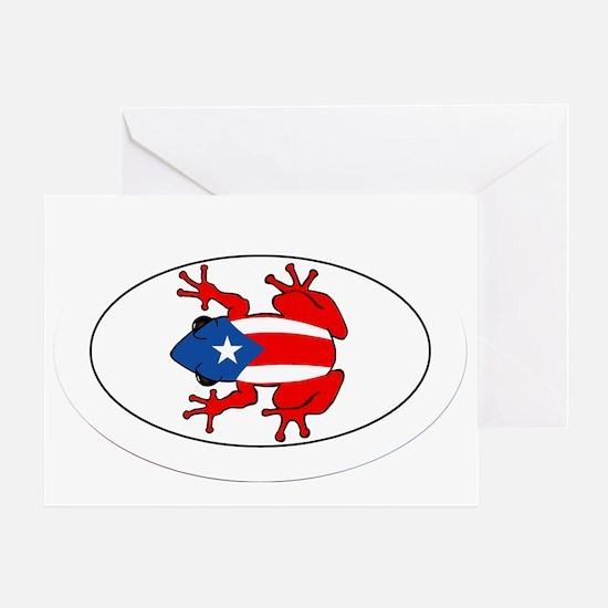 Puerto Rico - PR - Coqui Greeting Card