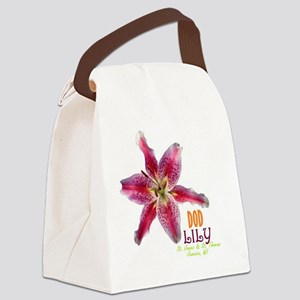 DOD LILY Canvas Lunch Bag