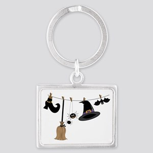 Witch Clothing Landscape Keychain