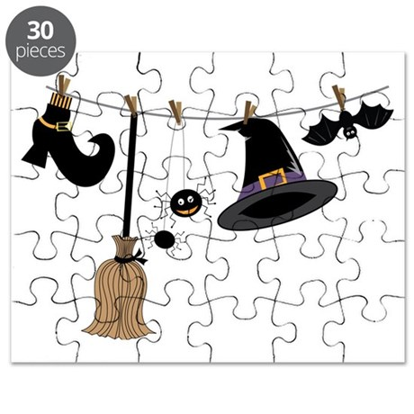 Witch Clothing Puzzle