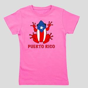 Puerto Rico - PR - Coqui Girl's Tee