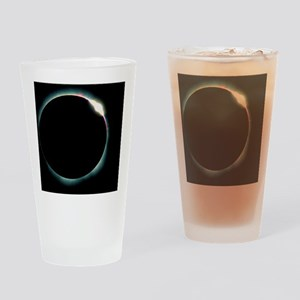 The diamond ring effect during a so Drinking Glass