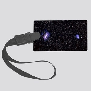 The Large and Small Magellanic C Large Luggage Tag