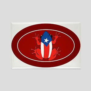 Puerto Rico - PR - Coqui Rectangle Magnet