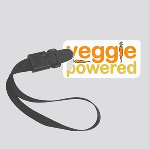 Veggie Powered Small Luggage Tag