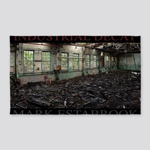 industrial decay 213a 3'x5' Area Rug