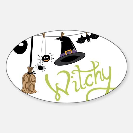 Witchy Sticker (Oval)