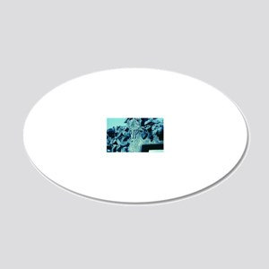 Tombstone 20x12 Oval Wall Decal