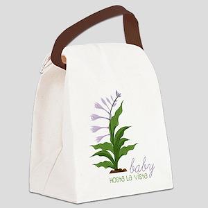 Hosta La Vista Canvas Lunch Bag