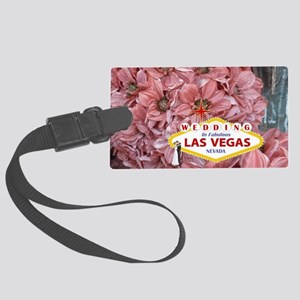 Wedding In Las Vegas Large Luggage Tag