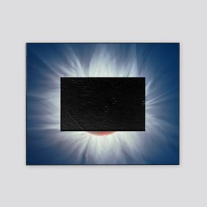 Total solar eclipse Picture Frame