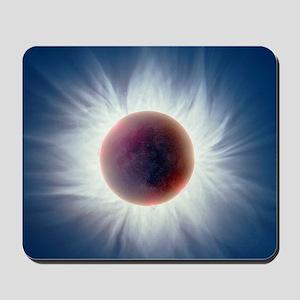 Total solar eclipse Mousepad
