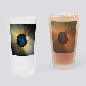 Total solar eclipse Drinking Glass