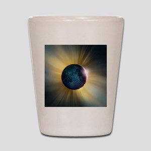Total solar eclipse Shot Glass
