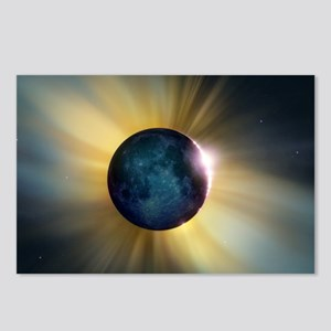 Total solar eclipse Postcards (Package of 8)