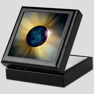 Total solar eclipse Keepsake Box