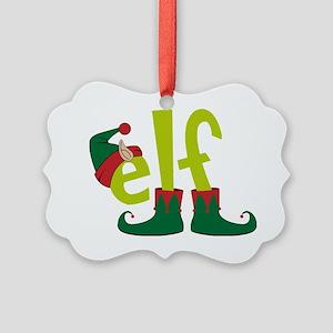 Elf Picture Ornament