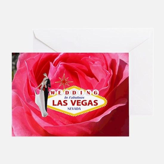 Wedding In Las Vegas Greeting Card