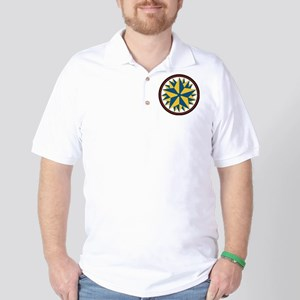Triple Star Hex Golf Shirt