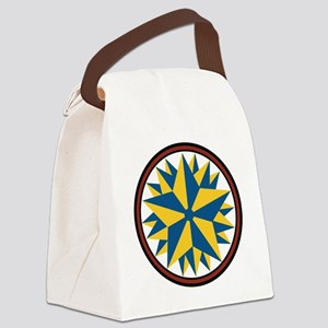 Triple Star Hex Canvas Lunch Bag