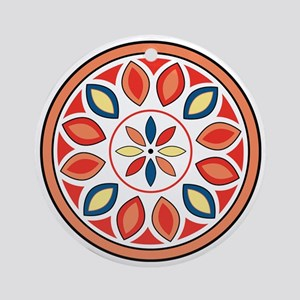 Hex Sign Round Ornament