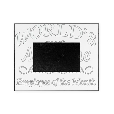 employee of the month Picture Frame by Admin_CP13428990