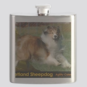 Shetland Sheepdog Cooper Flask