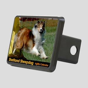 Shetland Sheepdog Cooper Rectangular Hitch Cover