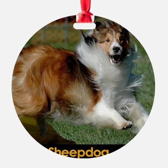 Shetland Sheepdog Cooper Ornament