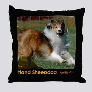 Shetland Sheepdog Cooper Throw Pillow