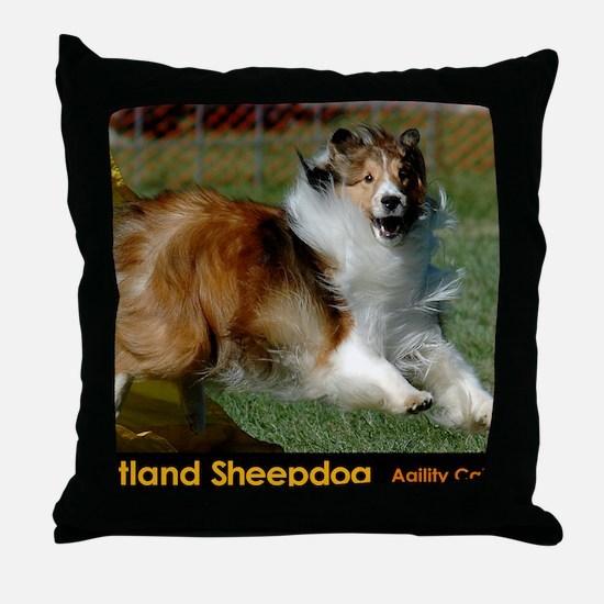 Shetland Sheepdog Cooper Throw Pillow