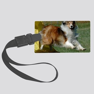 Shetland Sheepdog Cooper Large Luggage Tag