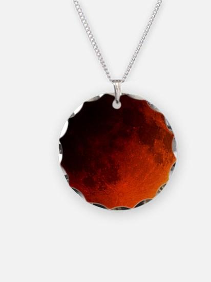 Total lunar eclipse Necklace