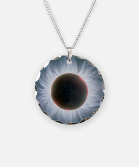 Total solar eclipse with cor Necklace
