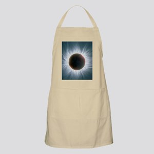 Total solar eclipse with corona Apron