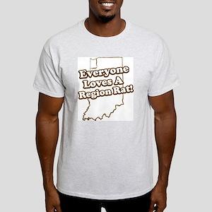 Everyone Loves A Region Rat Ash Grey T-Shirt