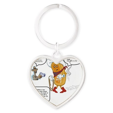 The murder of the Twinkie Heart Keychain