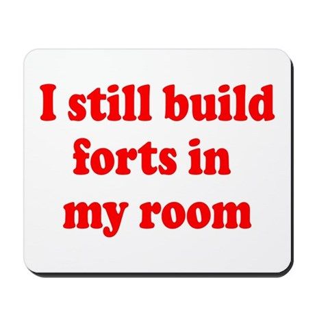 Build Forts Mousepad