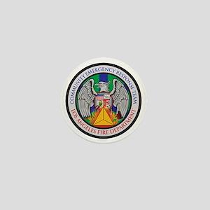 LAFD-CERT-LA Logo - no white Mini Button
