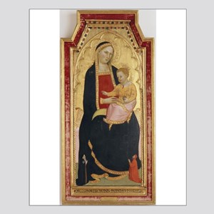 Antique Painting of Madonna and Child Posters