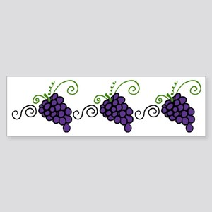 Napa Valley Grapes Sticker (Bumper)