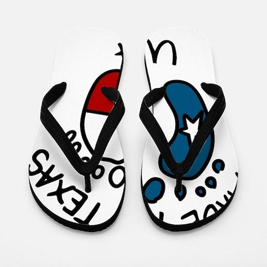 Made In Texas Flip Flops