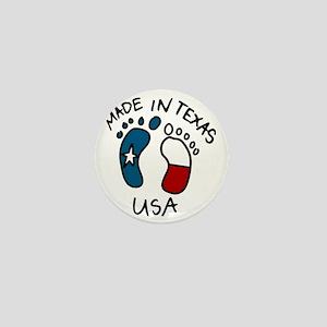 Made In Texas Mini Button