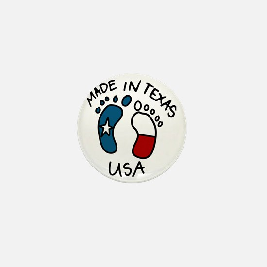 Made In Texas Mini Button