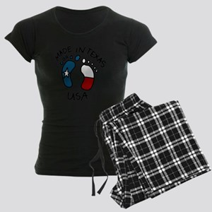 Made In Texas Women's Dark Pajamas